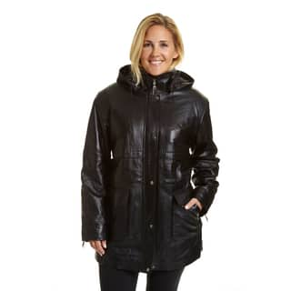EXcelled Women's Plus-size Hooded Parka|https://ak1.ostkcdn.com/images/products/12317582/P19150859.jpg?impolicy=medium