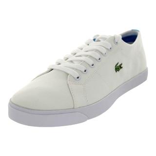 Lacoste Men's Marcel Aur Spm Cnv White/Blue Casual Shoe