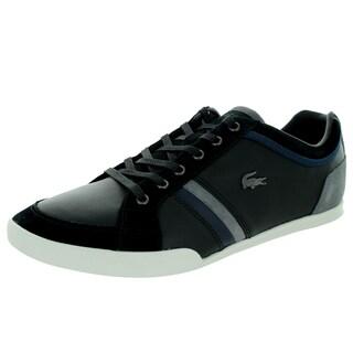 Lacoste Men's Rayford Srm Black/Dark Blue Casual Shoe