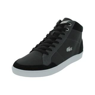 Lacoste Men's Pateaux Spm Black Casual Shoe