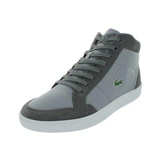 Lacoste Men's Pateaux Spm Txt/Sde Dk / Casual Shoe