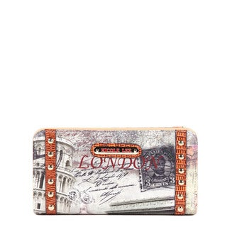 Nicole Lee London Gitana Vintage-print Wallet