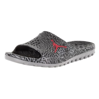 Nike Jordan Men's Jordan Super.Fly Team Slide Gr Black/Gym Red/Cool Grey Sandal