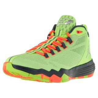 Nike Jordan Men's Jordan Cp3.Ix Ae Green/Metallic Silver/Hst/Brght Basketball Shoe