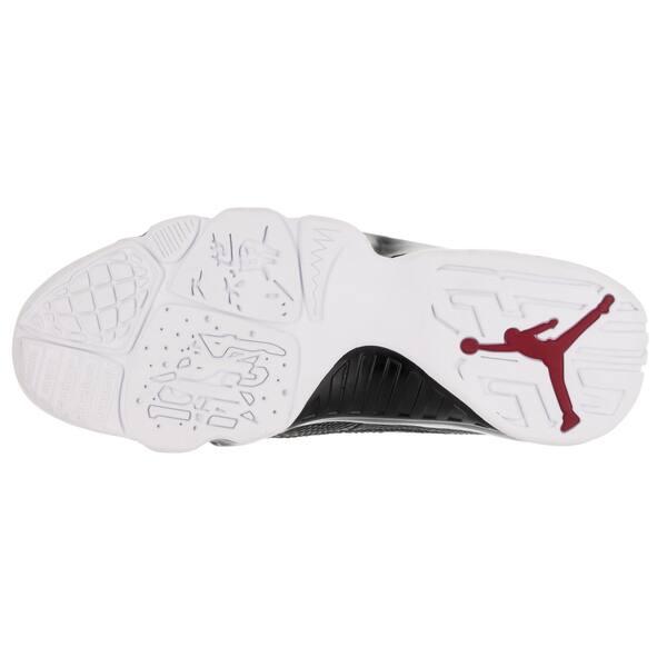 new product f01f5 4ba12 Shop Nike Jordan Men's Air Jordan 9 Retro Low Black/Gym Red ...