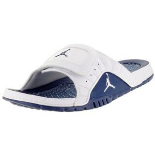 Nike Jordan Men's Hydro Xii Retro White/French Blue/Varsity Red Sandal