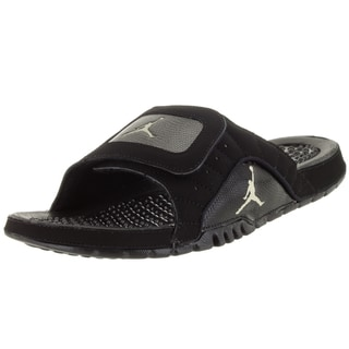Nike Jordan Men's Hydro Xii Retro Black/Gold Star/Black Sandal