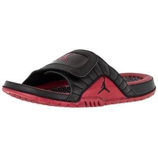 Nike Jordan Men's Hydro Xii Retro Black/Gym Red Sandal