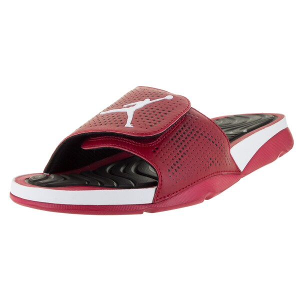 af045c58575 Shop Nike Jordan Men's Jordan Hydro 5 Gym Red/White/Black Sandal ...