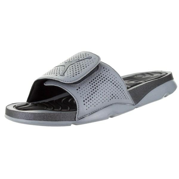 8bdc5ab5934 Shop Nike Jordan Men's Jordan Hydro 5 Cool Grey/ Hematite/Black ...