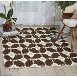 Nourison Enhance Brown Area Rug (2'6 x 4')