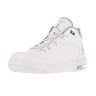 Nike Jordan Men's Jordan Flight Origin 3 White/Metallic Silver/White Basketball Shoe