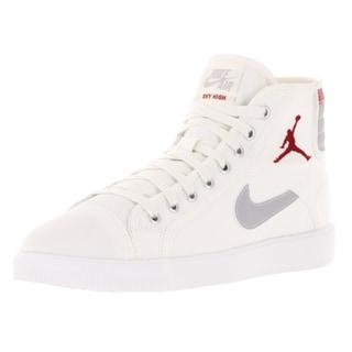 Nike Jordan Men's Air Jordan Skyhigh Og Sail/Gym Red/Wolf Grey Casual Shoe