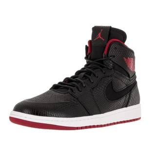 Nike Jordan Men's Air Jordan 1 Retro High Nouv Black/Gym Red/White Basketball Shoe