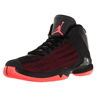 Nike Jordan Men's Jordan Super.Fly 4 Po Black/Infrared 23/Anthracite Basketball Shoe