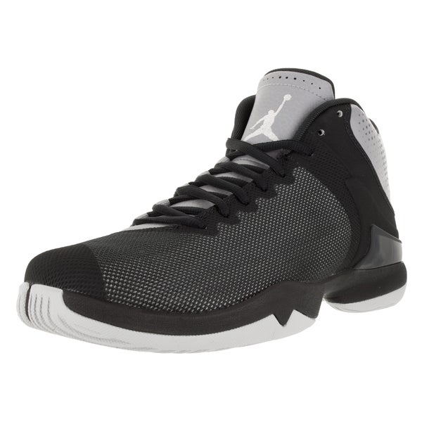9db87f0fab83c2 Shop Nike Jordan Men s Jordan Super.Fly 4 Po Wolf Grey White ...