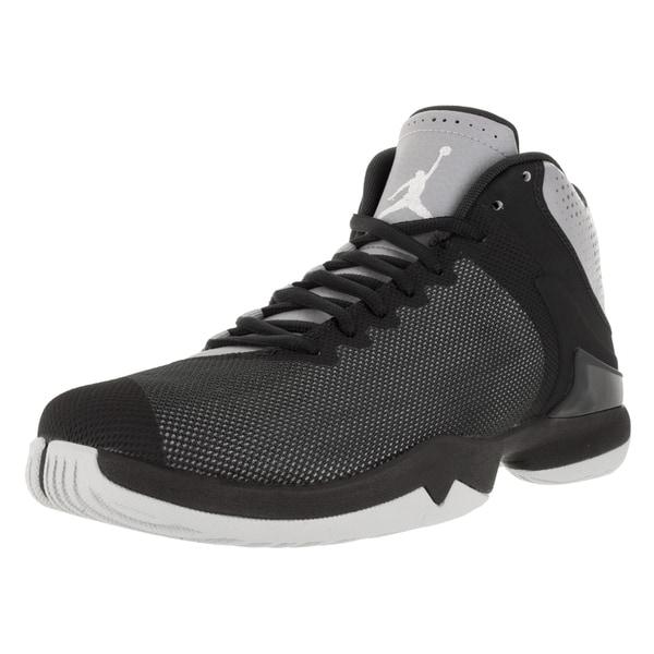 cd2ebf92c9a08 Shop Nike Jordan Men s Jordan Super.Fly 4 Po Wolf Grey White ...