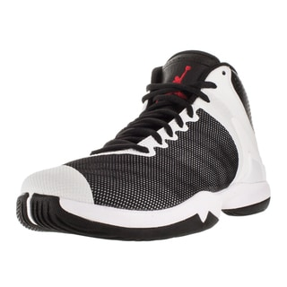 Nike Jordan Men's Jordan Super.Fly 4 Po Black/Gym Red/White/ Basketball Shoe