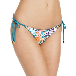 Vix Tide Tita Women's Floral Side-tie Full Bikini Bottom
