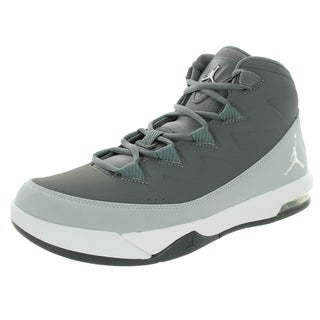 Nike Jordan Men's Jordan Air Deluxe Dark Grey/White/Wolf Grey Basketball Shoe