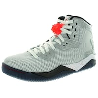 Nike Jordan Men's Air Jordan Spike Forty Pe White/Fire Red/Black Basketball Shoe