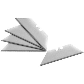 Aluminum Replacement Utility Knife Blades (Pack of 5)
