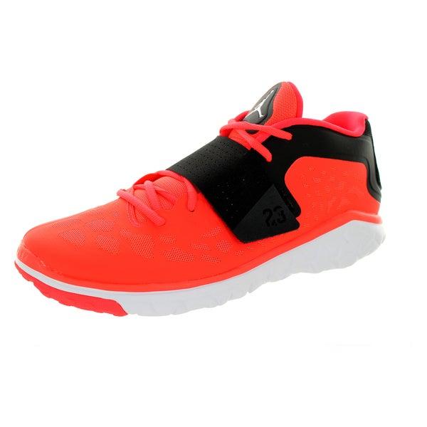 61c695e7050bdc Nike Jordan Men  x27 s Jordan Flight Flex Trainer 2 Infrared 23 White