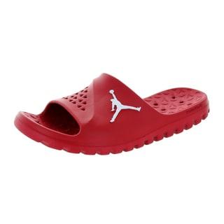 Nike Jordan Men's Jordan Super.Fly Team Slide Gym Red/White Sandal