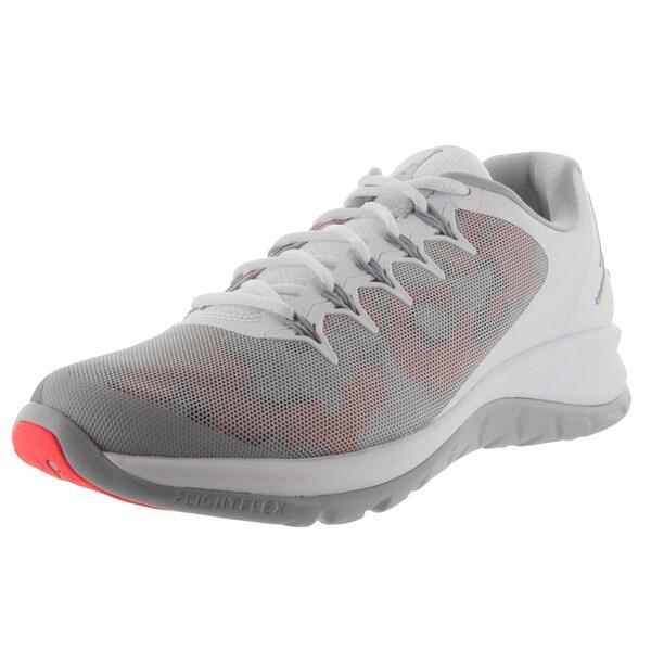 low priced 4109a 63b42 Nike Jordan Men  x27 s Jordan Flight Runner 2 White Wolf Grey