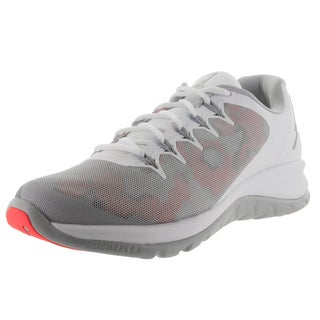 Nike Jordan Men's Jordan Flight Runner 2 White/Wolf Grey/Infrared 23 Running Shoe