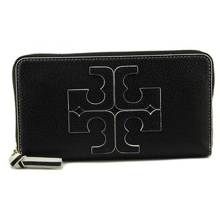 Tory Burch Women's 'Logo Zip Continental Wallet' Leather Handbag