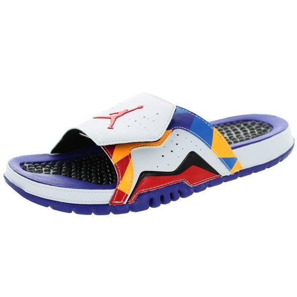 30f987185d4 Shop Nike Jordan Men's Jordan Hydro Vii Retro White/University Red/d ...