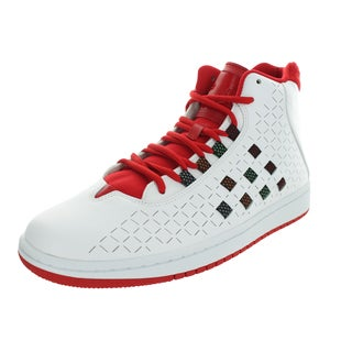 Nike Jordan Men's Jordan Illusion White/White/University Red/Brght M Basketball Shoe