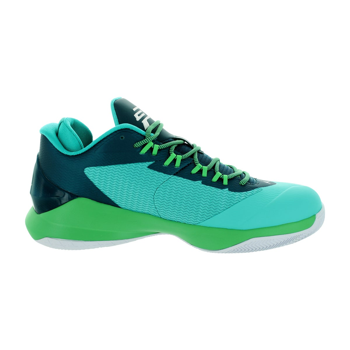 05a6819bef15fd Shop Nike Jordan Men s Jordan Cp3.Viii Retro White Teal Black Basketball  Shoe - Free Shipping Today - Overstock - 12318562