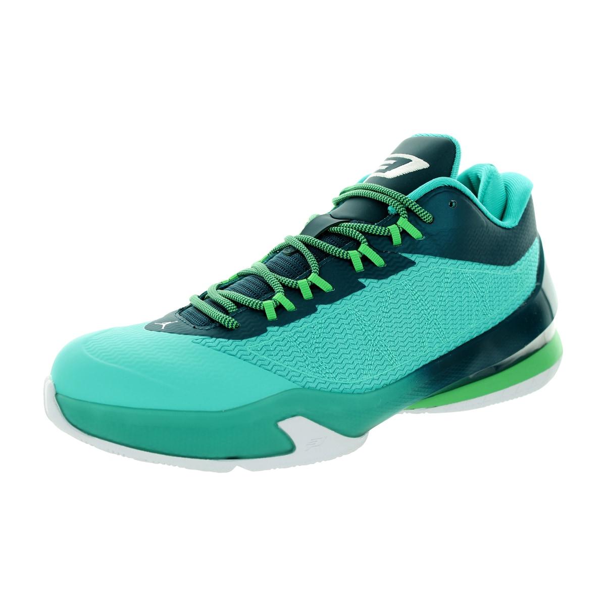 8f499be151ad Shop Nike Jordan Men s Jordan Cp3.Viii Retro White Teal Black Basketball  Shoe - Free Shipping Today - Overstock - 12318562