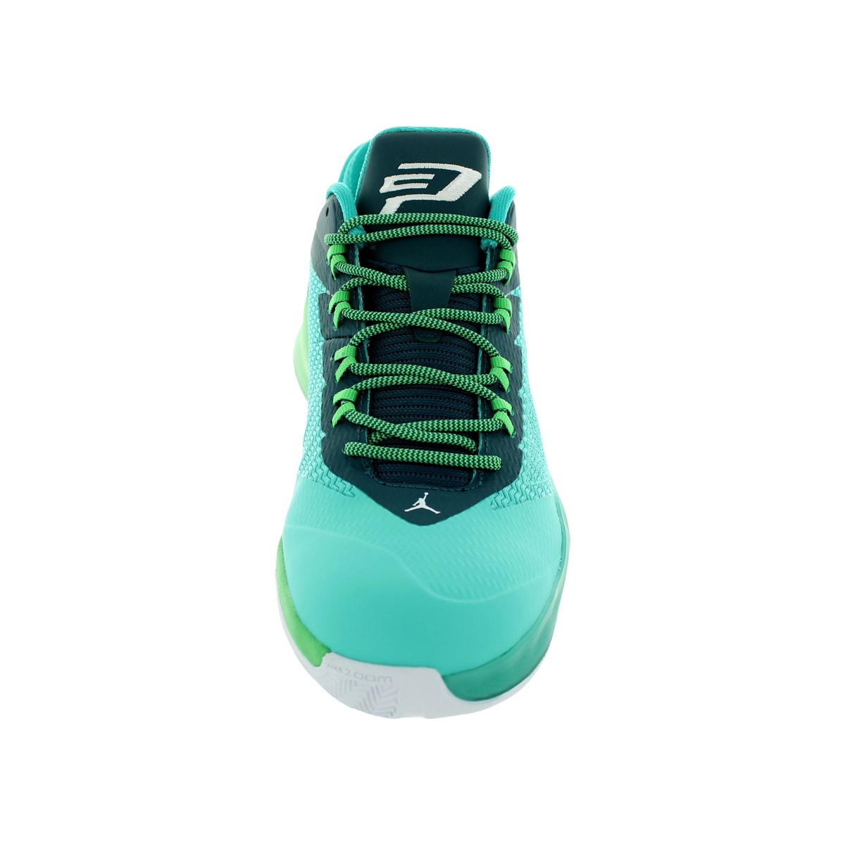 9ff34348e2e9c6 Shop Nike Jordan Men s Jordan Cp3.Viii Retro White Teal Black Basketball  Shoe - Free Shipping Today - Overstock - 12318562