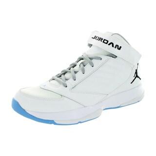 Nike Jordan Men's Jordan Bct Mid 3 White/Black/University Bl/Wlf Basketball Shoe