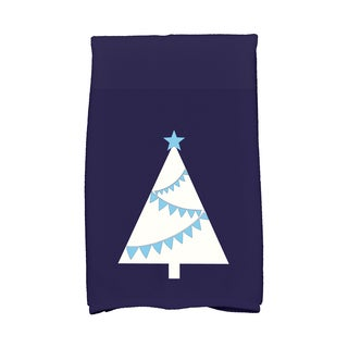16 x 25-inch, Garland Tree, Geometric Print Hand Towel