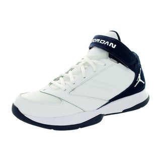Nike Jordan Men's Jordan Bct Mid 3 White/White/Midnight Navy Basketball Shoe