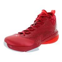 Nike Jordan Men's Jordan Flight Time 14.5 Gym Red/White/Infrared 23/White Basketball Shoe