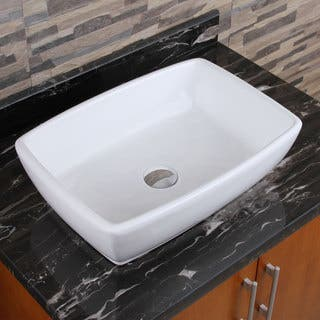 Vessel Bathroom Sinks For Less Overstock - Counter top bathroom sinks