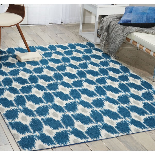Nourison Enhance Navy Area Rug (2'6 x 4')