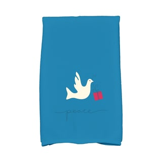 16 x 25-inch, Peace Dove, Animal Print Hand Towel