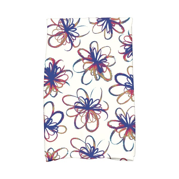 16 x 25-inch, Penelope, Floral Print Hand Towel