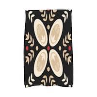 16 x 25-inch, Tradition, Geometric Print Hand Towel