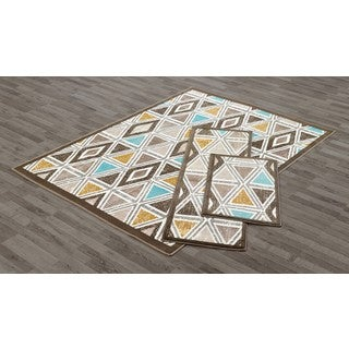 VCNY Tribeca Area Rugs (Set of 3)