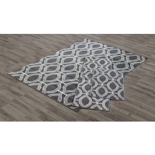 VCNY Cognac Area Rugs (Set of 3)