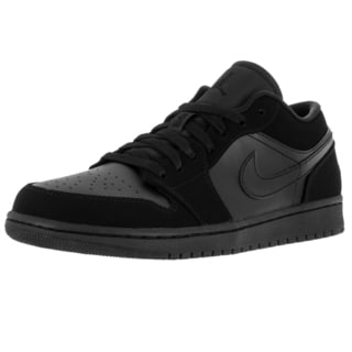 Nike Jordan Men's Air Jordan 1 Low Black Basketball Shoe