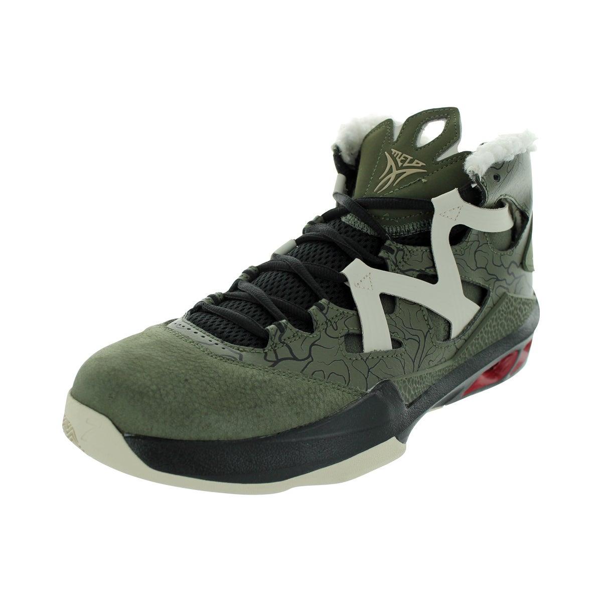 Nike Men's Jordan Melo M9 Crg Khk/Mlc Znc/Gym Rd/Black Ba...