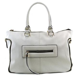 Urban Expressions Women's Alessandra Faux Leather Satchel Handbag